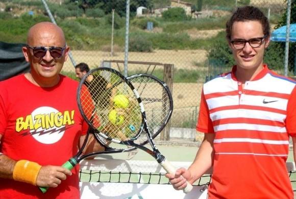 """Tennis, a Camillo Ciccarelli il 1° trofeo """"La Torretta"""" di Cianciana"""