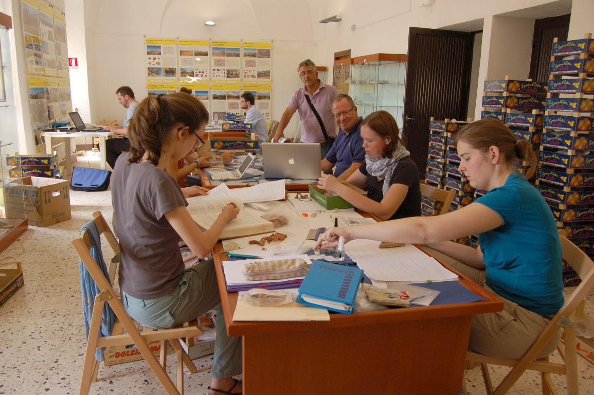 Archeologi tedeschi a Cianciana per studiare reperti del territorio agrigentino