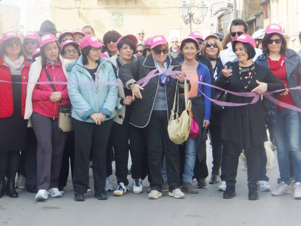 Marcia per la prevenzione organizzata dalla Consulta delle Donne Cianciana