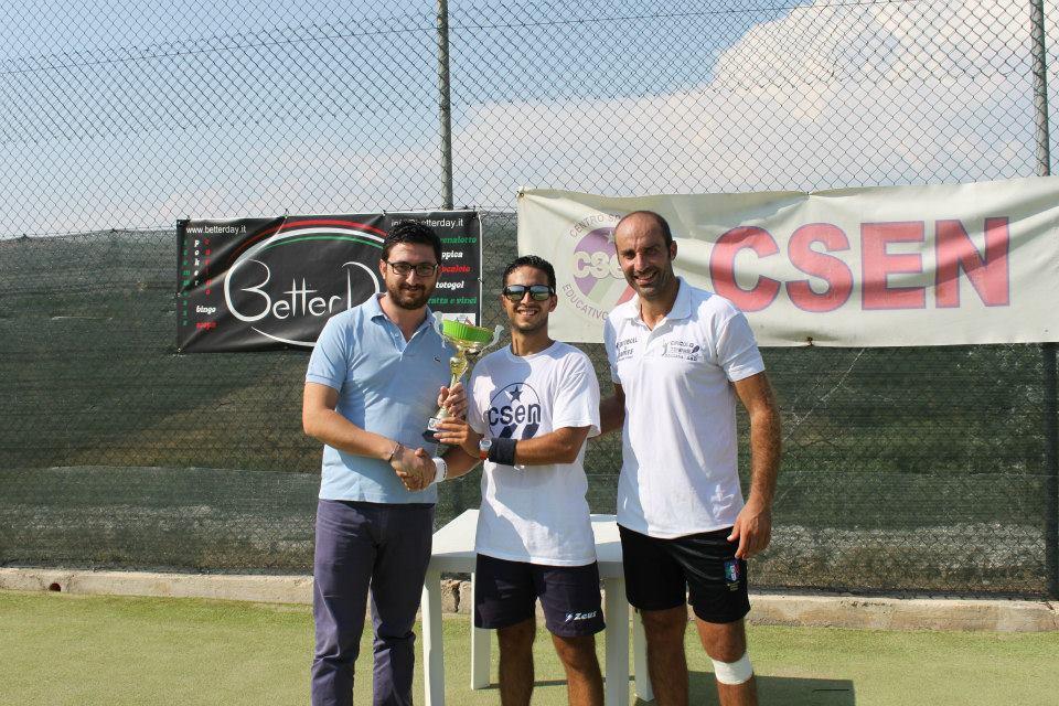 Tennis, Davide Piparo vince la II edizione del Cianciana Open