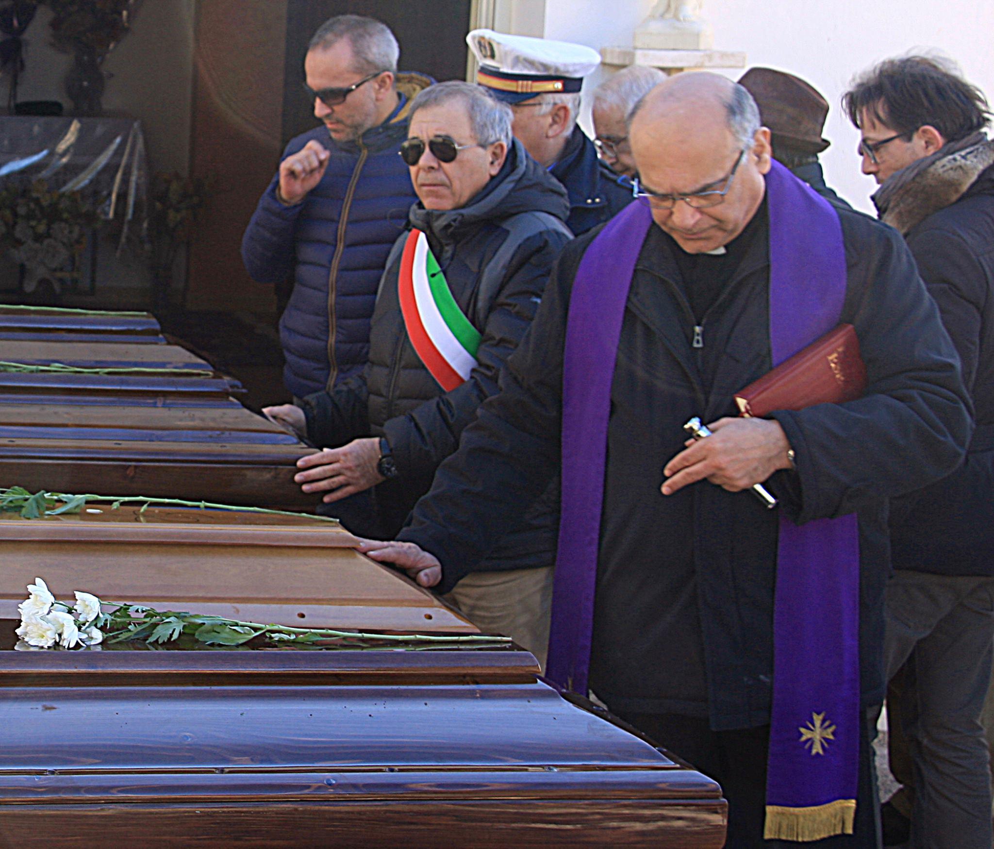 Naufragio di Lampedusa: Cianciana accoglie quattro salme