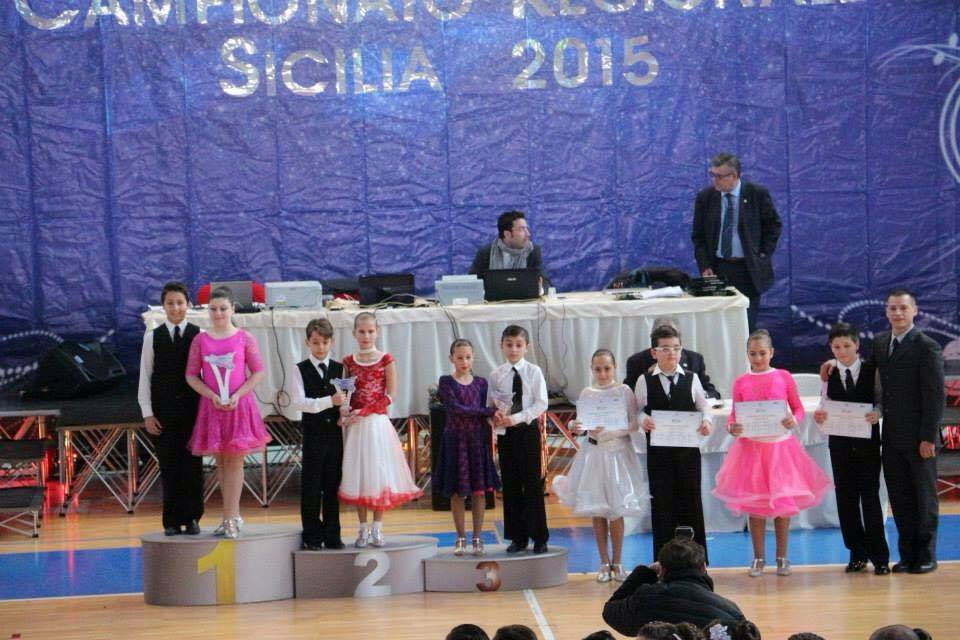 Campionato Regionale Sicilia 2015: Simone Pulizzi e Alessandra Scardino campioni di ballo liscio unificato