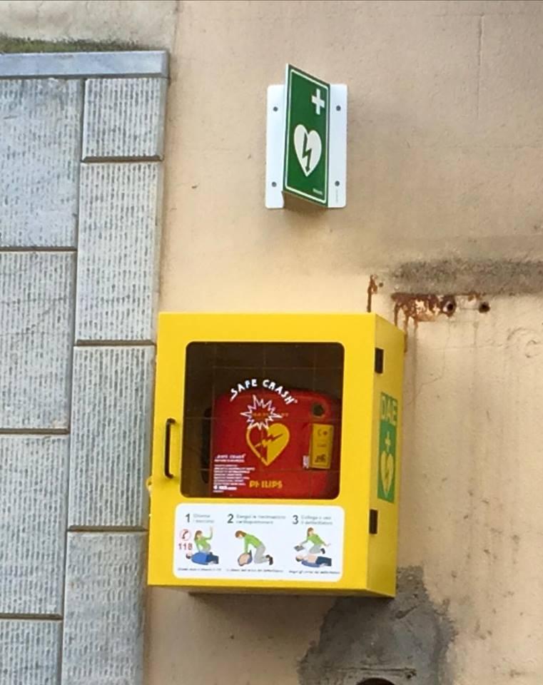 """Progetto """"Ti abbiamo a cuore"""": Cianciana dotato di un defibrillatore"""