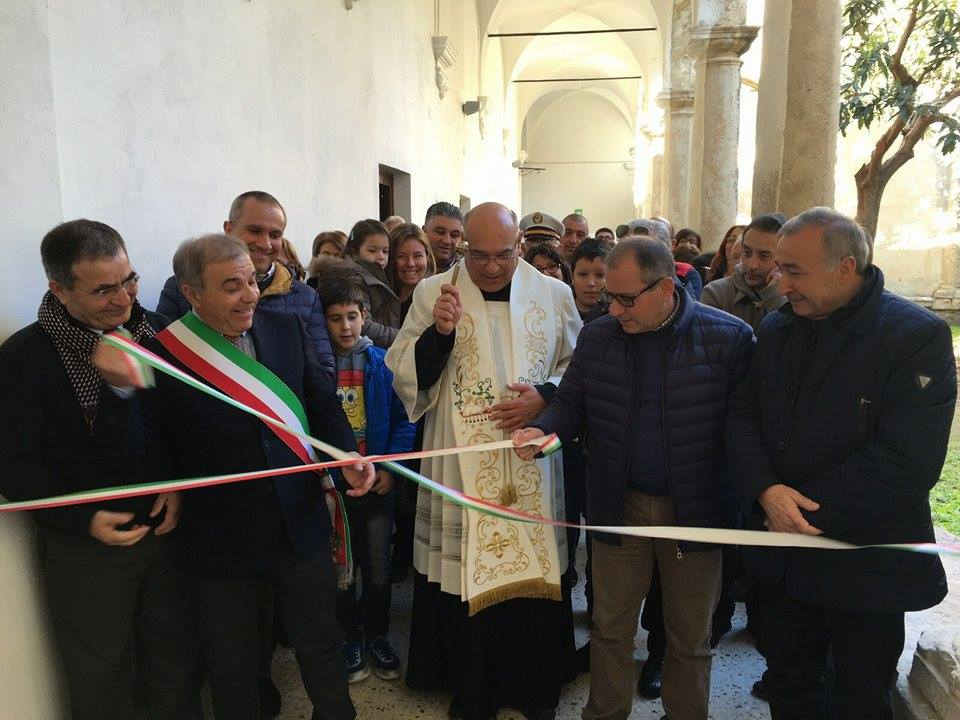 Cianciana, inaugurato centro d'interpretazione del patrimonio culturale nell'ex Convento dei Frati minori