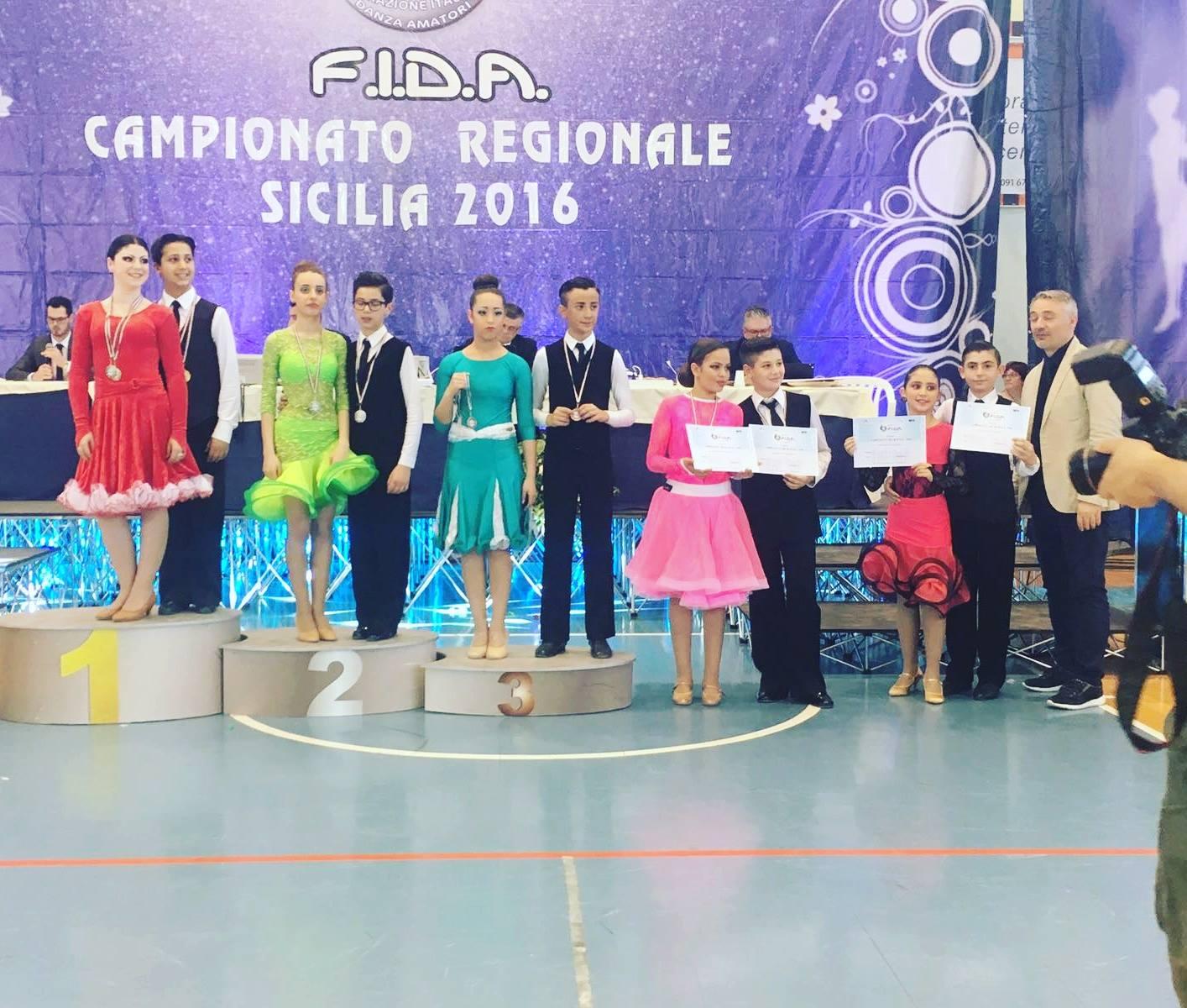 Campionato Regionale F.I.D.A. Sicilia 2016: la coppia ciancianese Pulizzi-Scardino sul podio