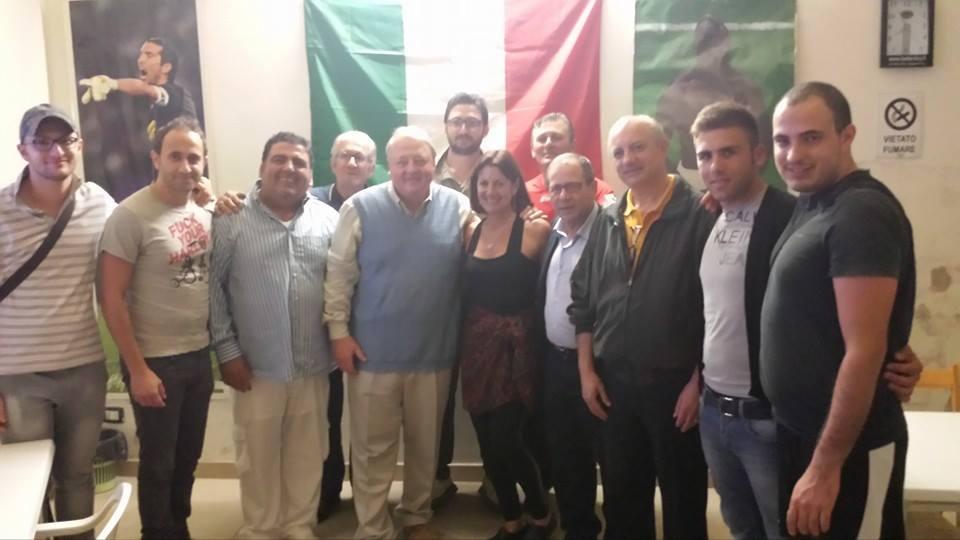 L'imprenditore americano Thomas DiBenedetto a Cianciana