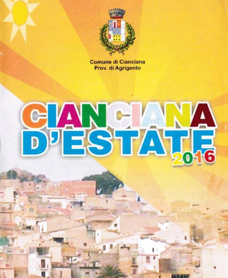 Programma Estate Ciancianese 2016
