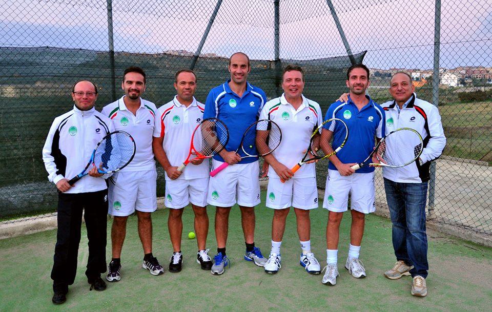 Il Circolo Tennis Cianciana al torneo provinciale