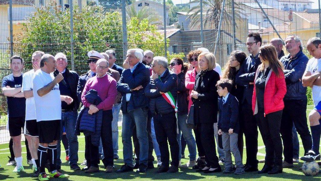 Cianciana, campo di calcetto comunale intitolato a Lorenzo Calamo