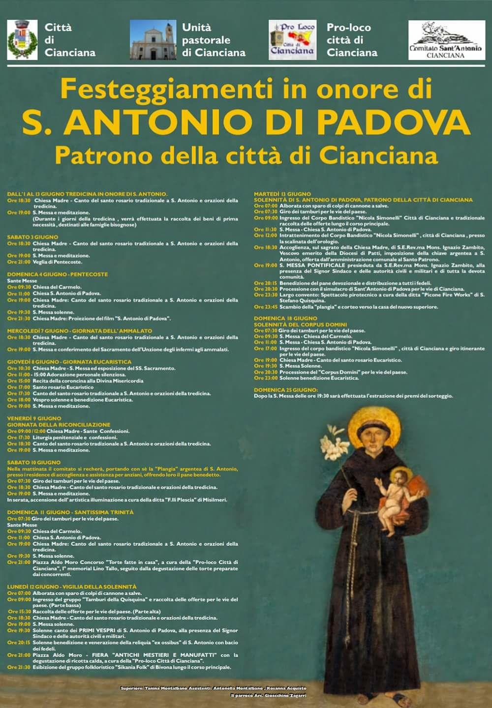 Festa di Sant'Antonio da Padova 2017