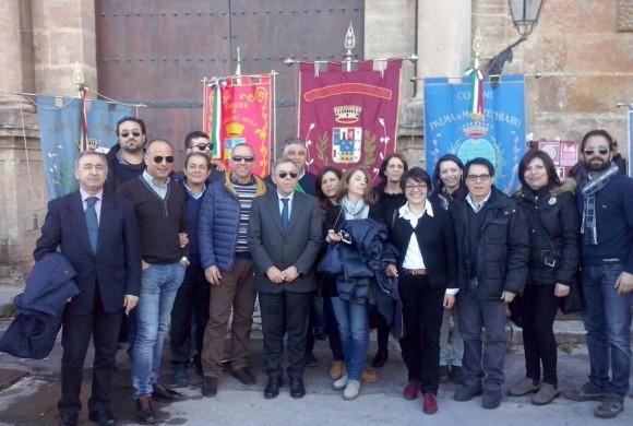 Acqua pubblica: il consiglio comunale di Cianciana alla manifestazione di Palermo