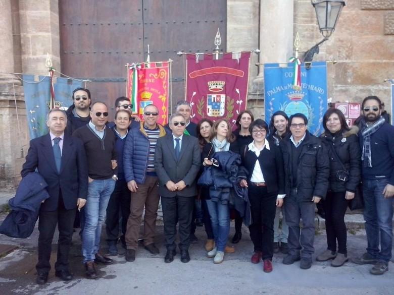 Manifestazione Acqua Pubblica a Palermo