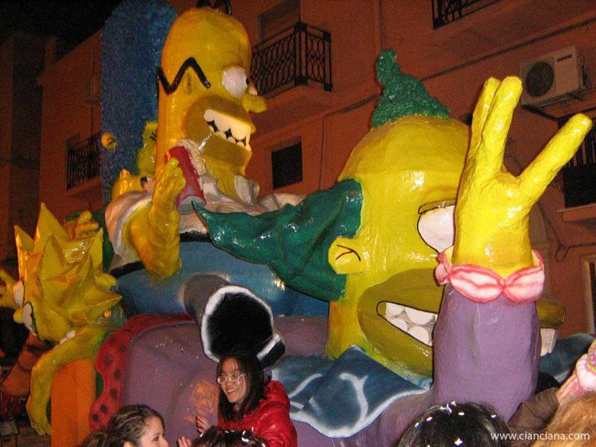 Carnevale 2009 - Simpson