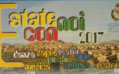 Programma Estate Ciancianese 2017