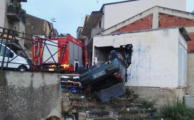 Cianciana, incidente su corso Cinquemani Arcuri