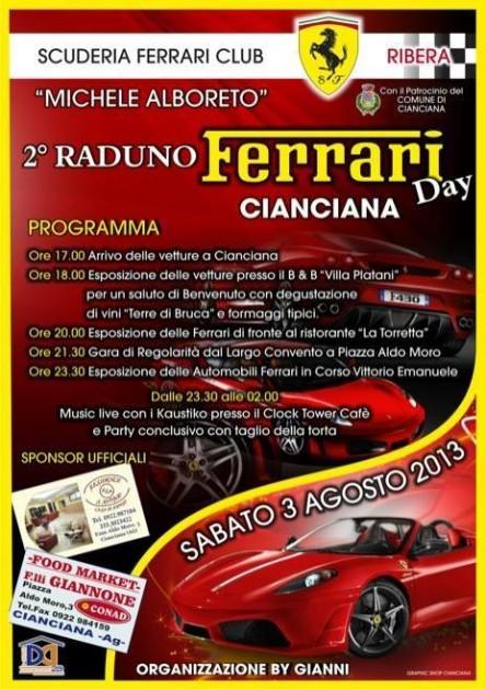 2° raduno Ferrari 2013