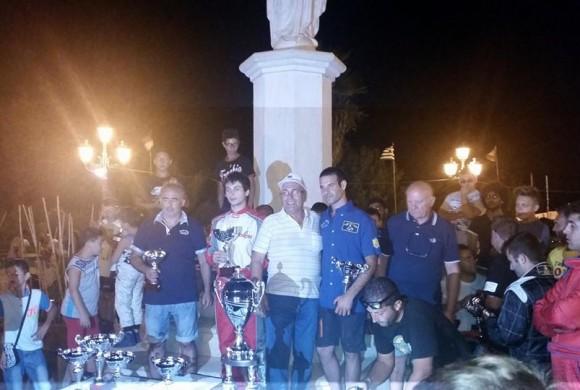 Il 2° trofeo kart Alessandria della Rocca parla ciancianese: duello show Frenna-Carubia