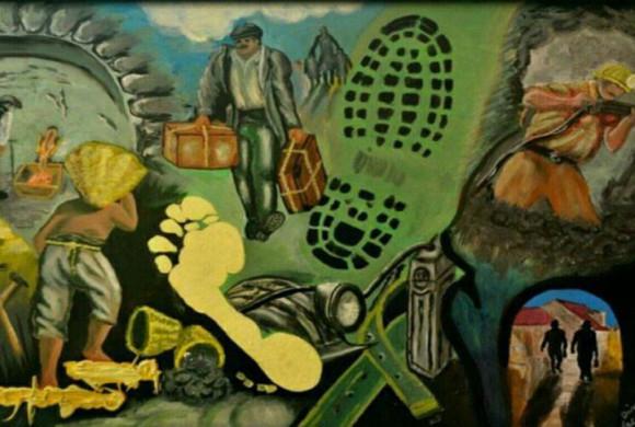 """""""Vita e morte nelle miniere"""": in mostra a Torino opere di Dino Vaccaro, Eugenio Giannone e Alessio Di Giovanni"""