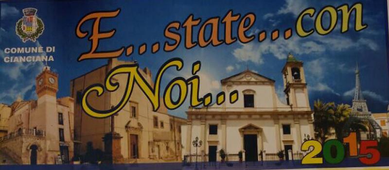 Programma Estate Ciancianese 2015