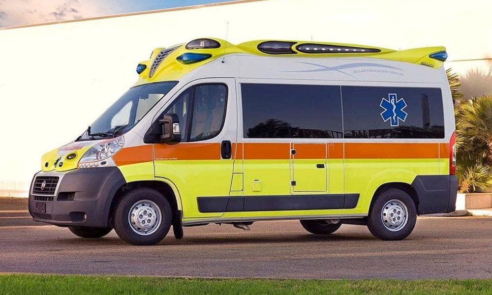 Una ambulanza medicalizzata del 118, Cianciana lancia l'sos alla Regione