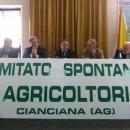 comitato spontaneo agricoltori cianciana
