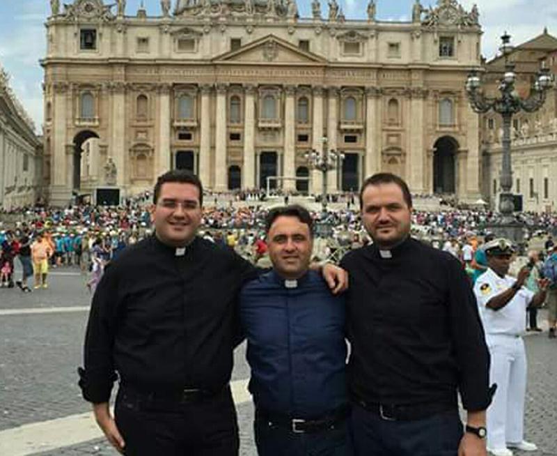 Il diacono Gianluca Arcuri sarà ordinato sacerdote il 30 Aprile 2016