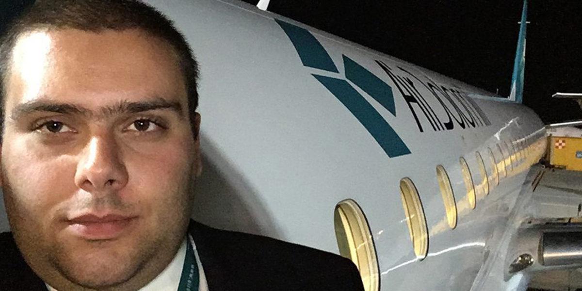 Luigi Pollari First Officer di Air Dolomiti