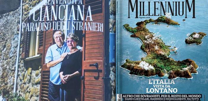 """Millennium: """"Benvenuti a Cianciana, paradiso degli stranieri"""""""