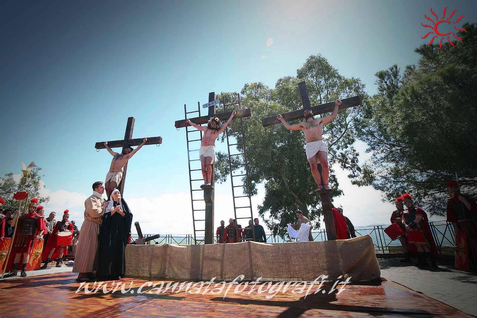 Settimana Santa 2014: il video della Via Crucis a Cianciana
