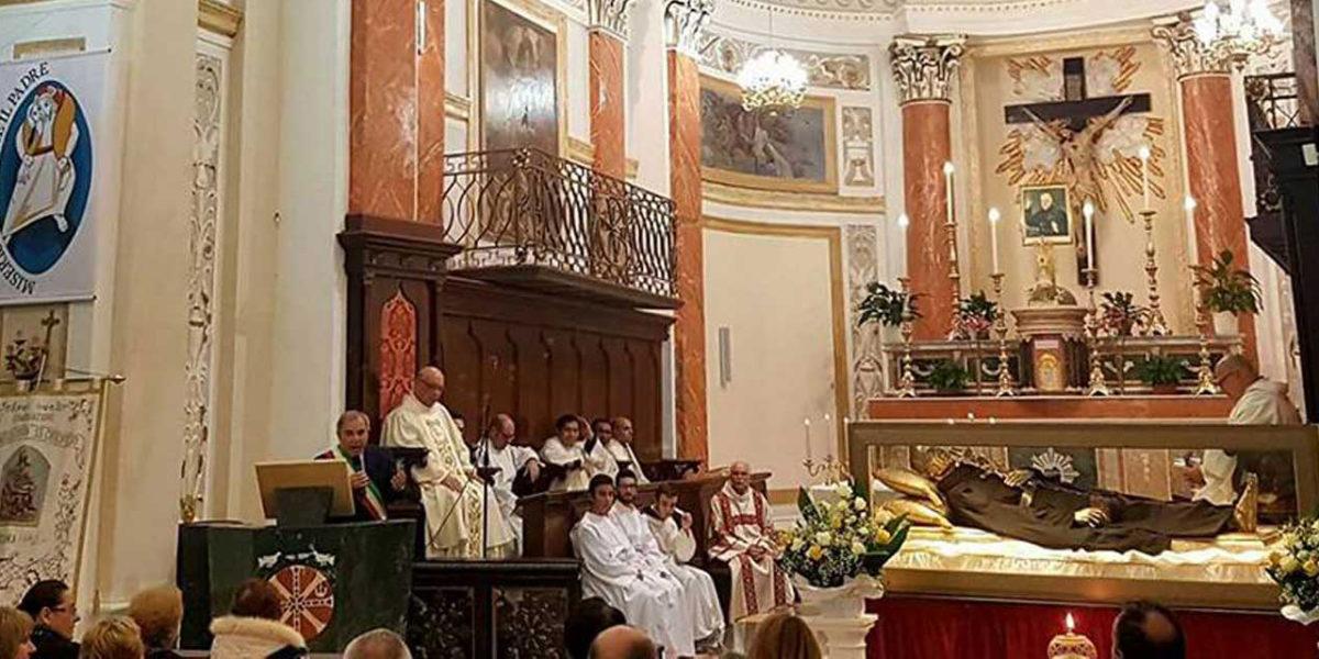 Le Spoglie di San Paolo della Croce a Cianciana: le foto