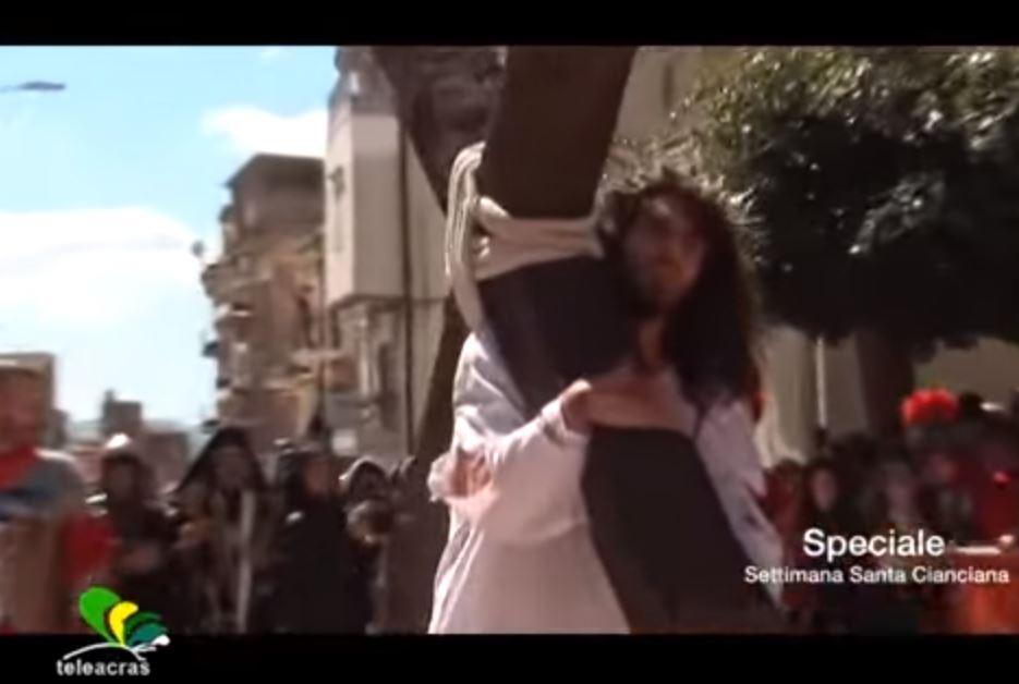 """Speciale """"Settimana Santa Cianciana"""" realizzato da Teleacras"""
