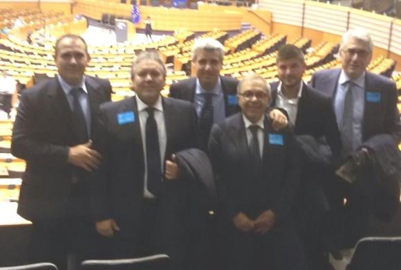 Il sindaco di Cianciana al Parlamento Europeo per visionare i prossimi bandi di finanziamento UE