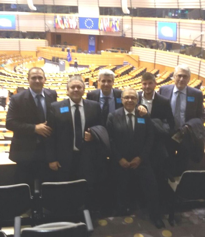 Santo Alfano al Parlamento Europeo