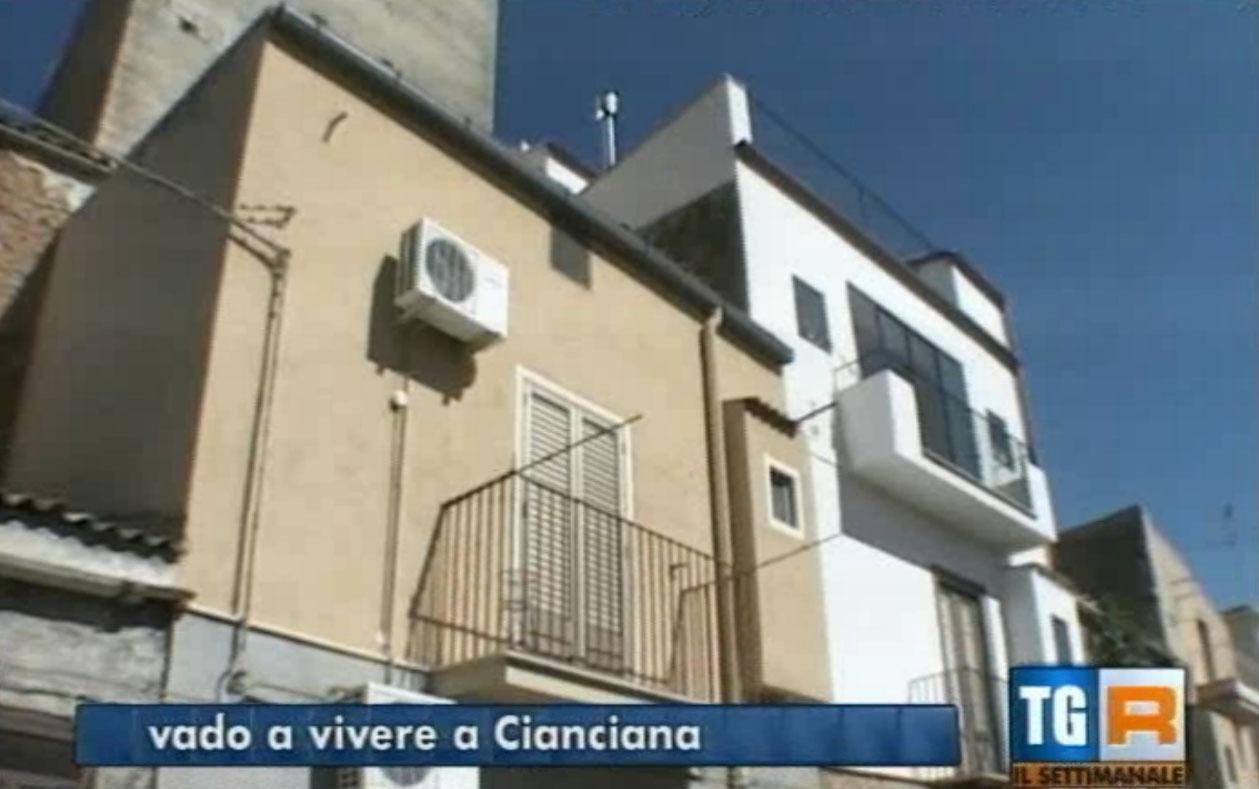 """Reportage su Rai 3: """"Vado a vivere a Cianciana"""""""