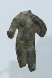 Fronte della statua