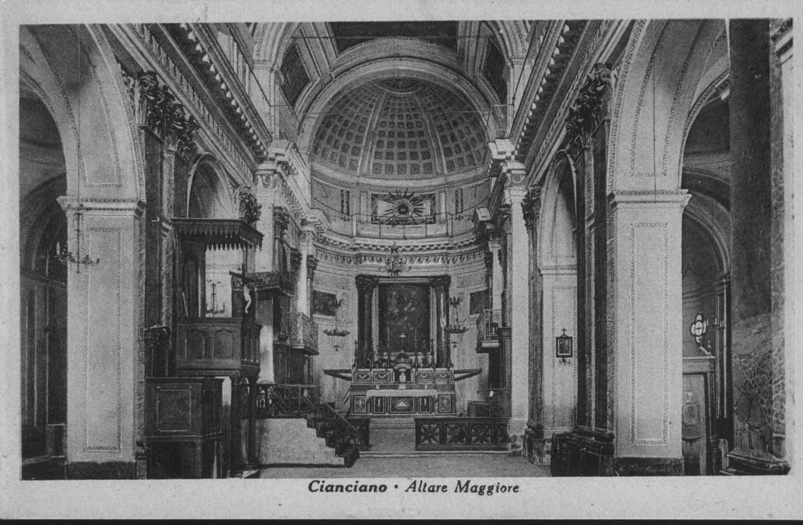 Altare maggiore chiesa Madre