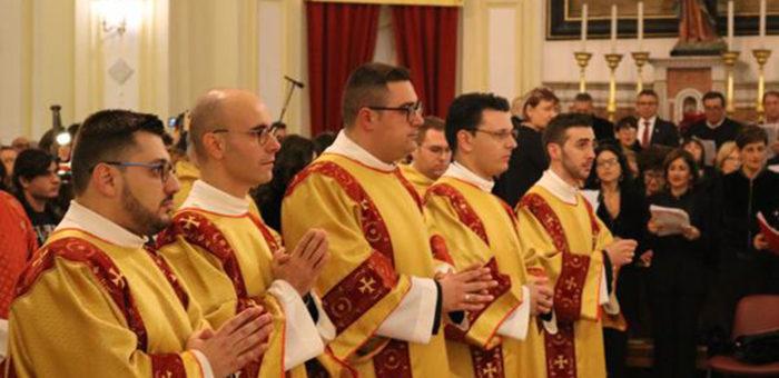 Giovanni Gattuso nominato Diacono dal cardinale Montenegro