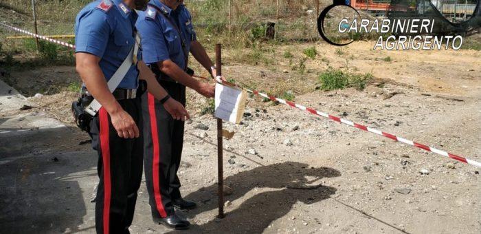 Scoperta e sequestrata una discarica abusiva a Cianciana: due denunciati